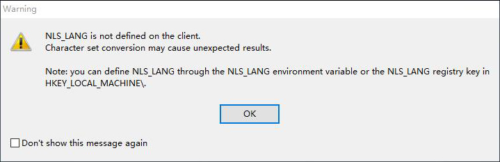 plsql环境变量NLS_LANG错误_图例