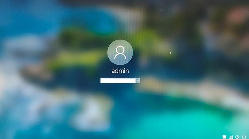 开机等待数入密码_图例